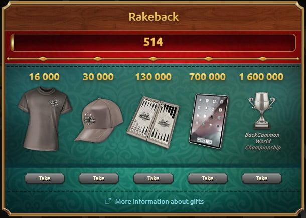 Rackeback NardGammon
